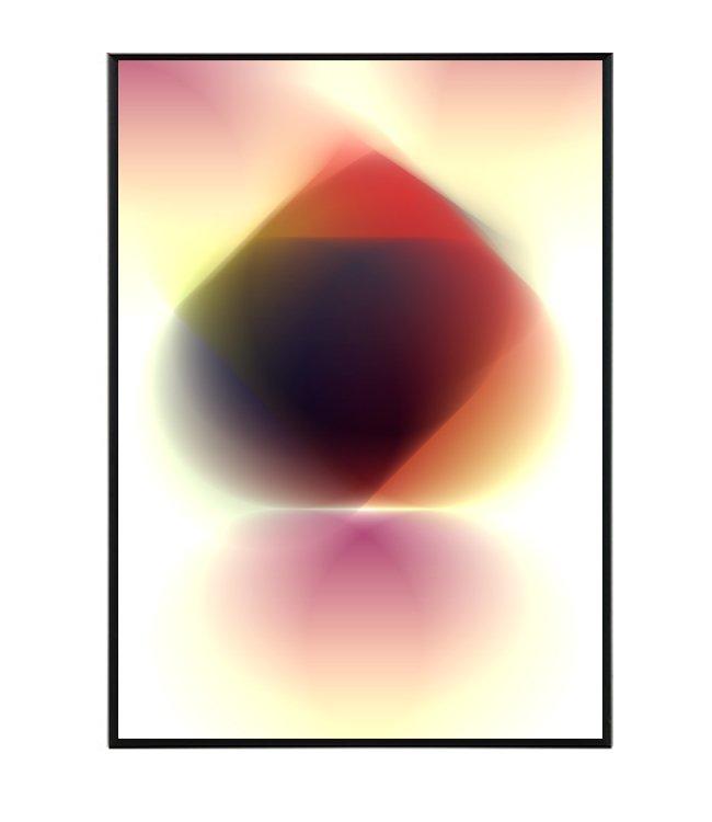 Abstraktní obraz design studio la forma