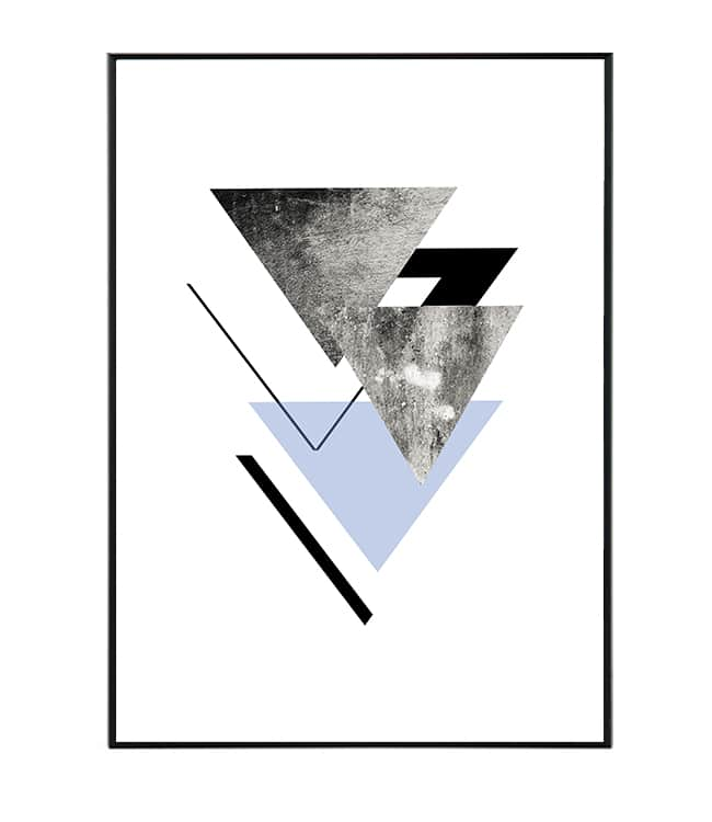 obraz triangl serie / artprint