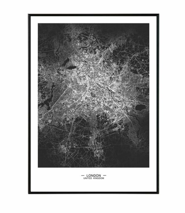 London map 8