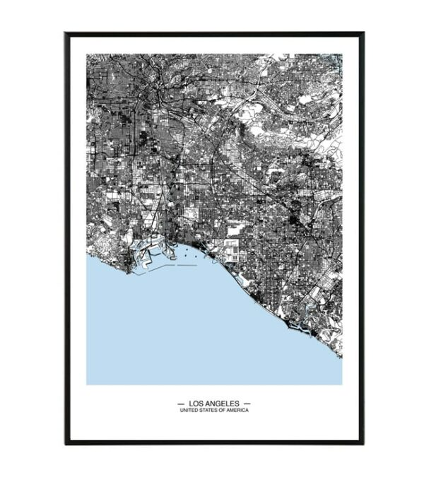 Los Angeles map 4
