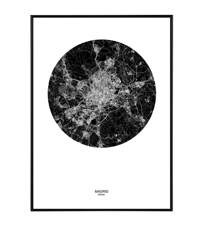madrid map la forma design studio