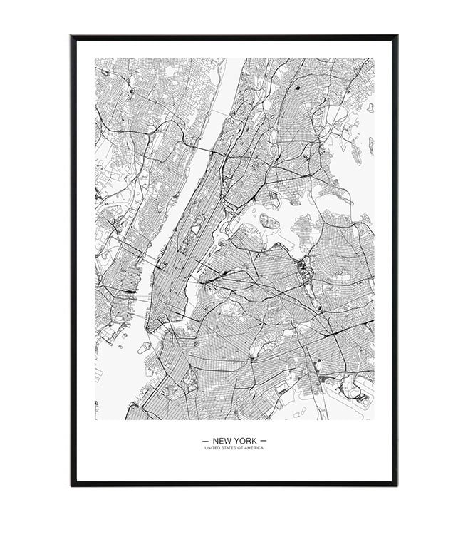 New York map 1