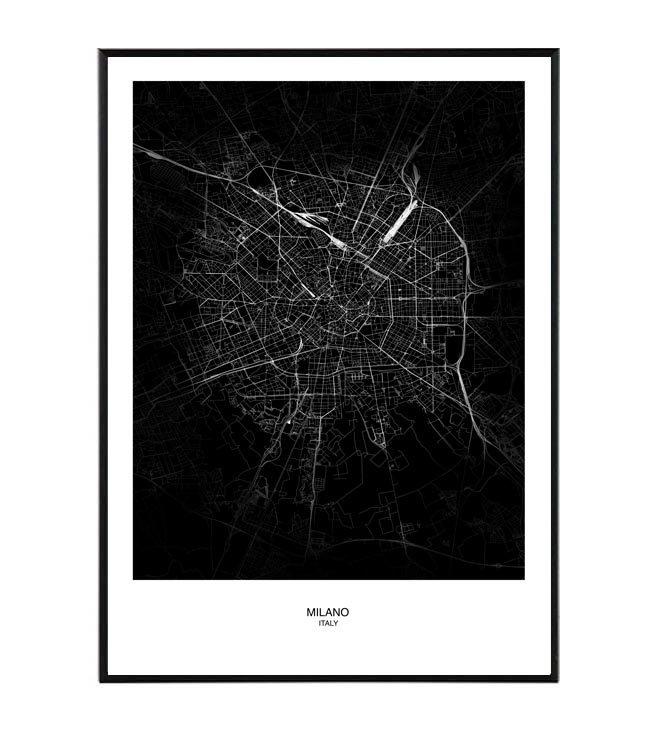 Milano map La forma design studio