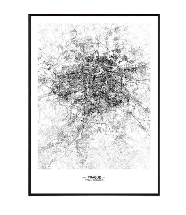 prague praha mapa la forma design studio