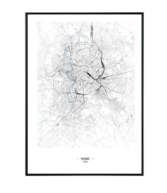 rome map design studio la forma