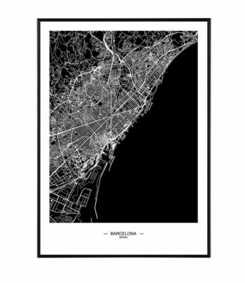 Barcelona map 5