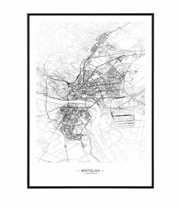 Bratislava map 19