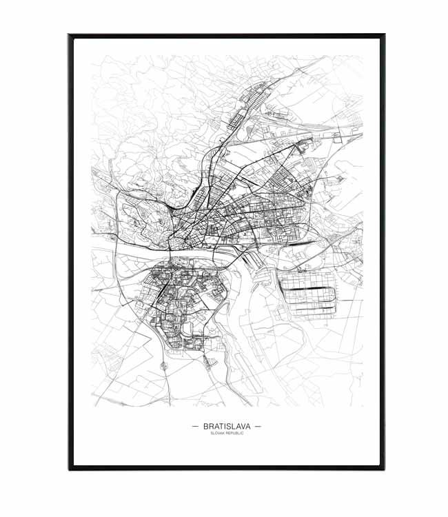 bratislava map design studio la forma