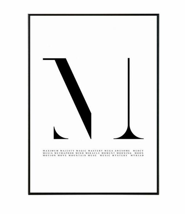 Typography M 4