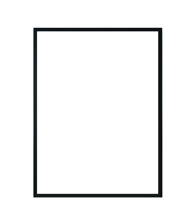 Nielsen rám černá barva 50x70cm