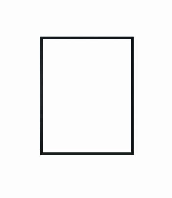 hliníkový rám NIELSEN černá barva 30x40 cm 4