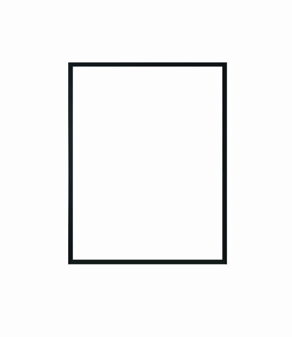 hliníkový rám NIELSEN černá barva 30x40 cm 2