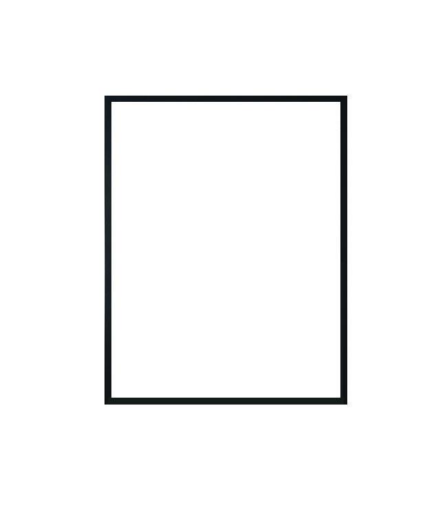 hliníkový rám NIELSEN černá barva 30x40 cm 1
