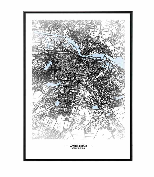 Amsterdam map 1