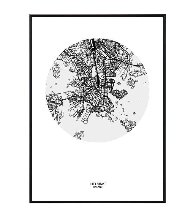 mapa obraz design studio La forma