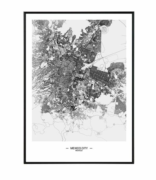 Mexico city map 8