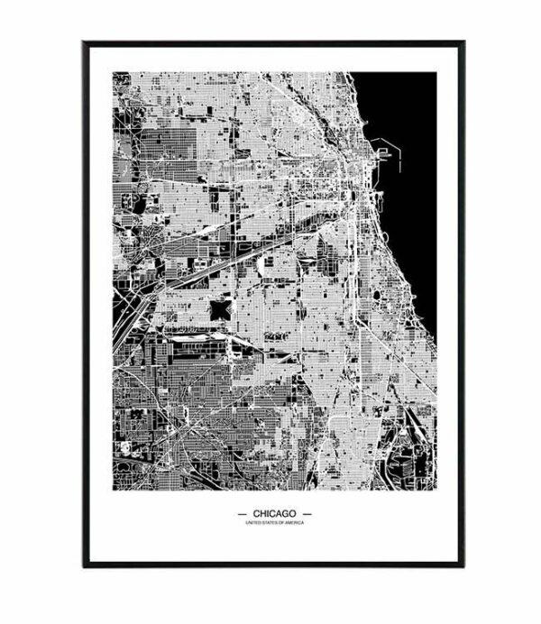 Chicago map 28