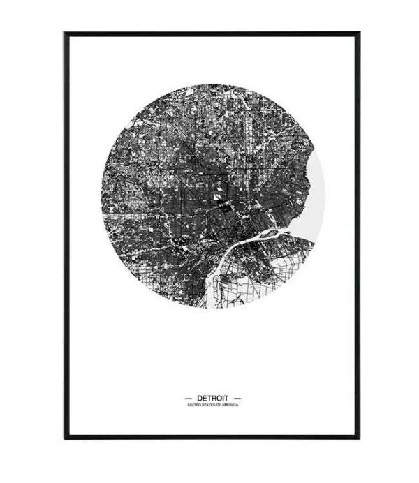 Detroit map 29