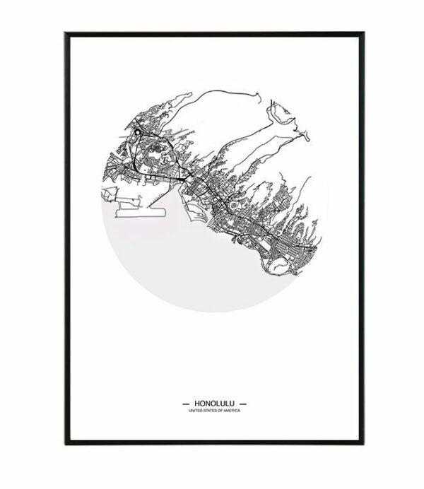 Honolulu map 26