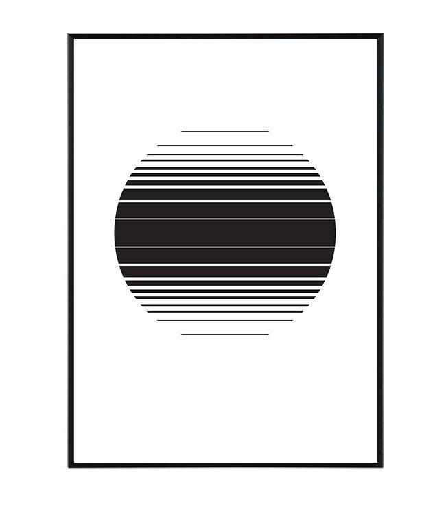 Horizontals obraz design studio La forma