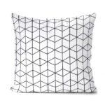 dekorativní geometrický povlak na polštář Cube 40x40 cm 7