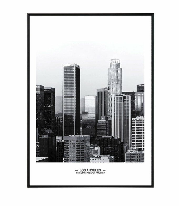 los angeles plakat obraz design studio laforma