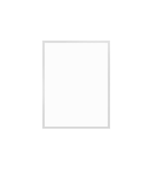 bílý dřevěný rám LIGHT 30x40 cm 1