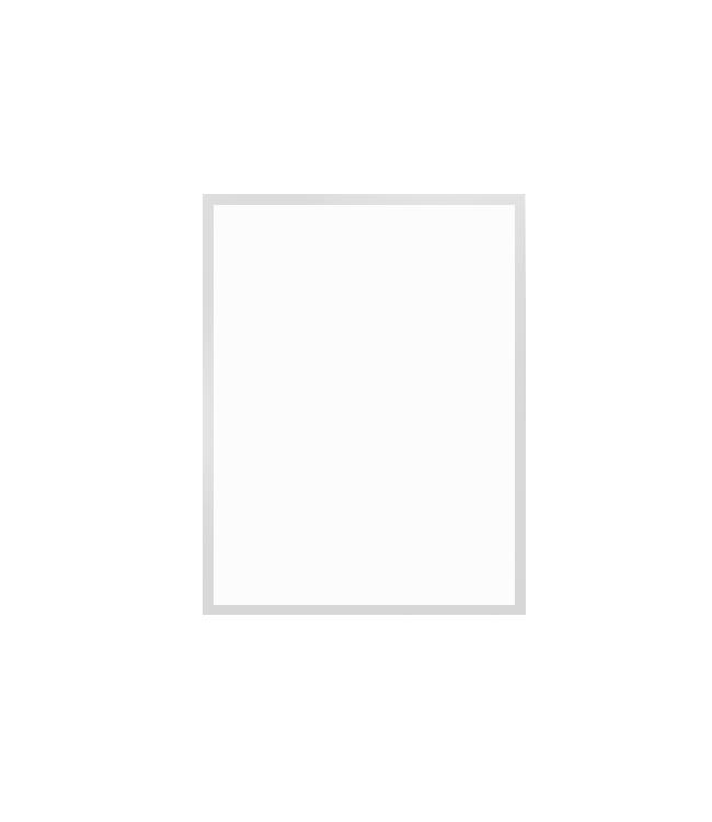 rám bílý dřevěný 30×40 cm