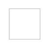 bílý dřevěný rám LIGHT 50x50 cm 1