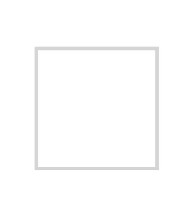 bílý dřevěný rám LIGHT 50x50 cm 6