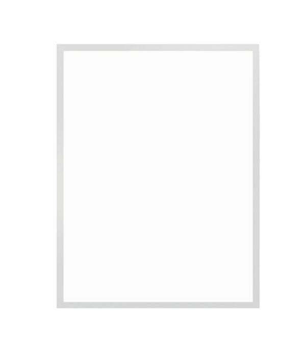 bílý dřevěný rám LIGHT 50x70 cm 9