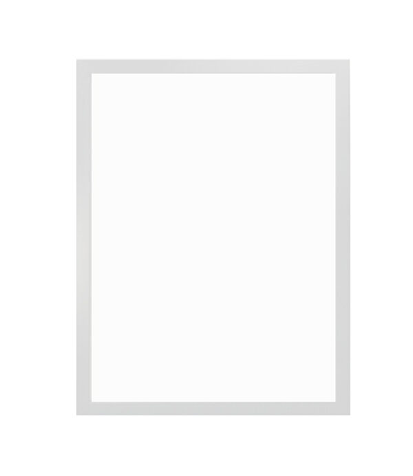 bílý dřevěný rám CLASSIC 50x70 cm 13