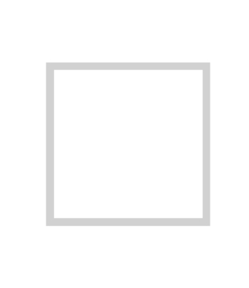 bílý dřevěný rám CLASSIC 50x50 cm 5