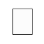 černý dřevěný rám LIGHT 30x40 cm 9