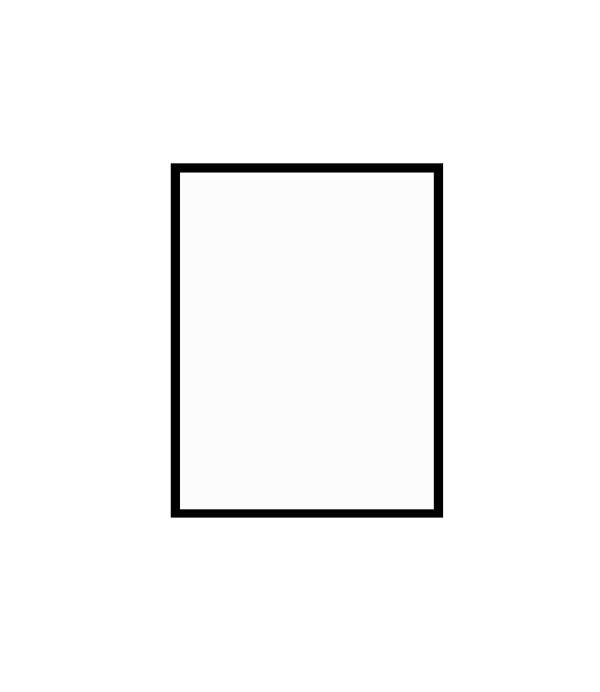 černý dřevěný rám LIGHT 30x40 cm 3