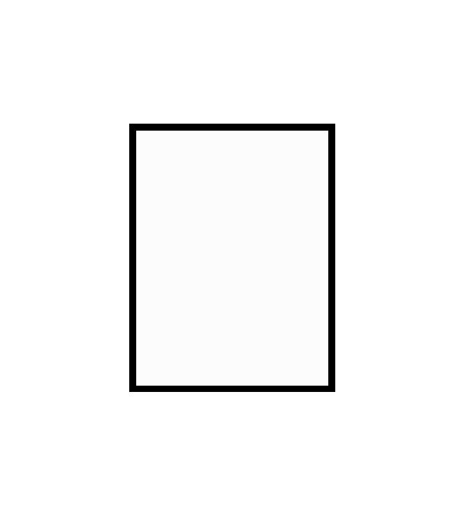 černý dřevěný rám LIGHT 30x40 cm 1