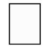 černý dřevěný rám LIGHT 50x70 cm 1