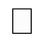 černý dřevěný rám CLASSIC 30x40 cm 6