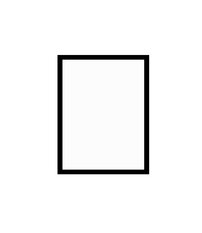černý dřevěný rám CLASSIC 30x40 cm 1