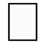 černý dřevěný rám CLASSIC 50x70 cm 6
