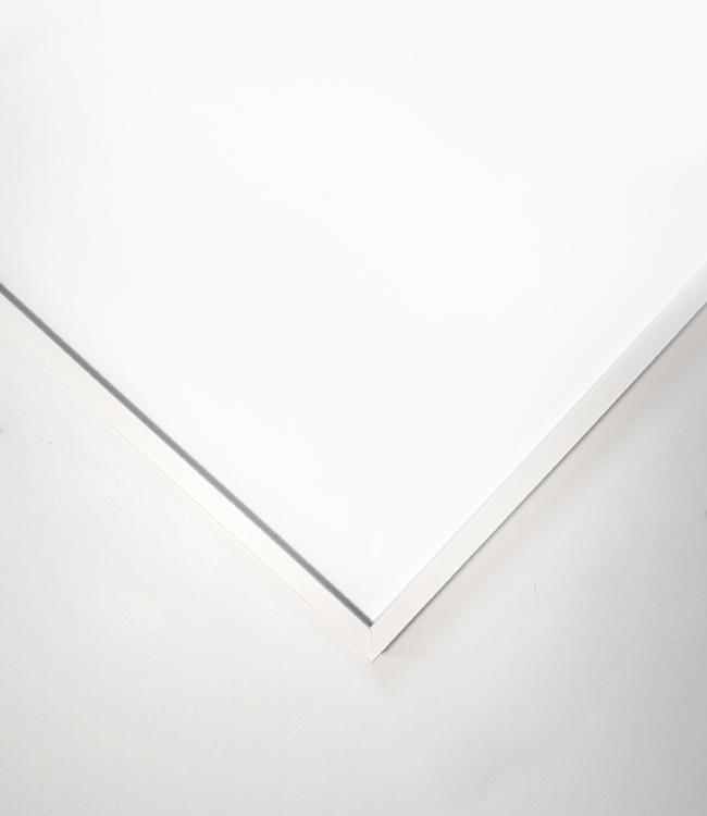bílý dřevěný rám LIGHT 50x70 cm 2