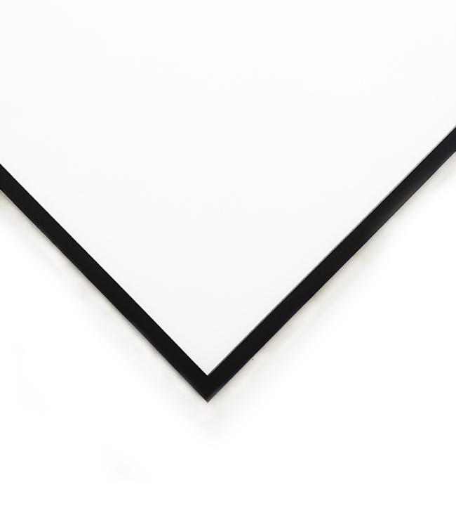 černý dřevěný rám LIGHT 50x50 cm 2