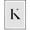 Letter K 1