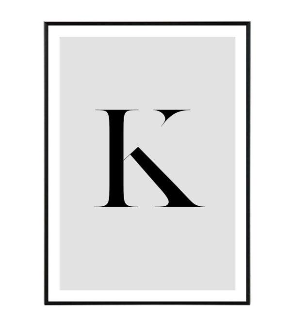 Letter K 9
