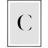 Letter C 1