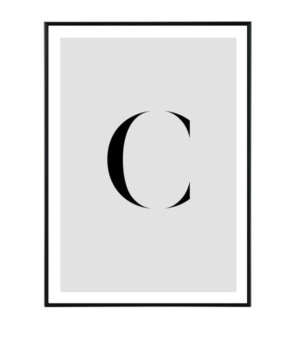 Letter C 7