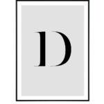 Letter D 10