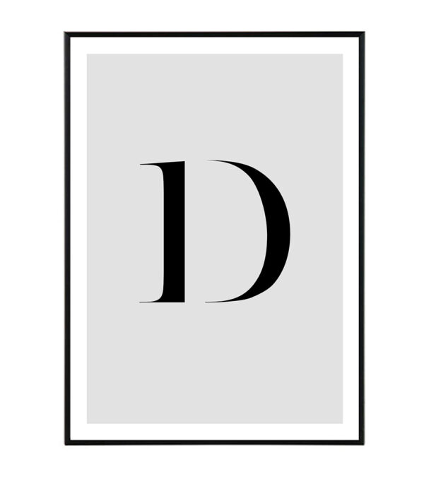 Letter D 8