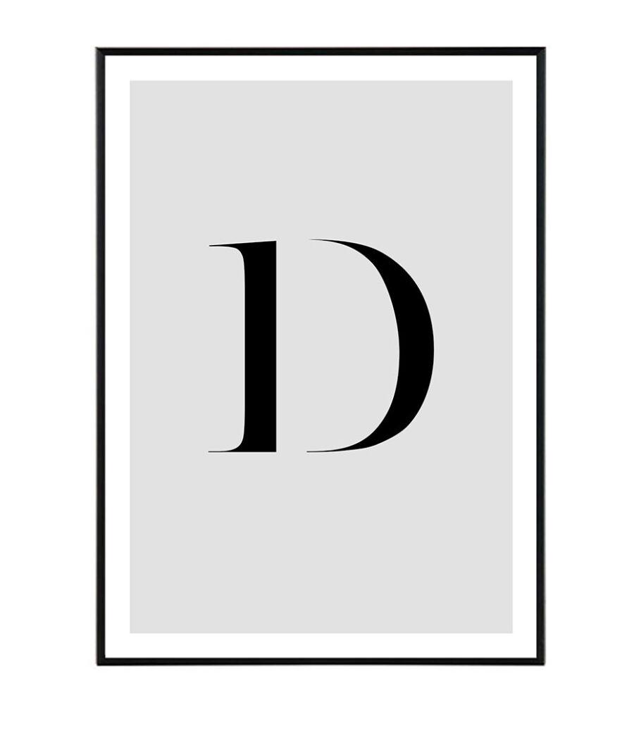 Letter D 1