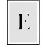 Letter E 10